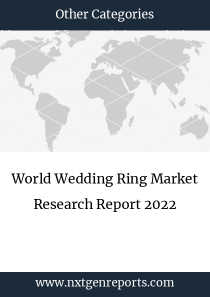 World Wedding Ring Market Research Report 2022