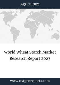 World Wheat Starch Market Research Report 2023