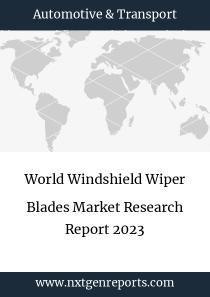 World Windshield Wiper Blades Market Research Report 2023