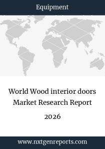 World Wood interior doors Market Research Report 2024