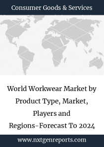 World Workwear Market by Product Type, Market, Players and Regions-Forecast To 2024 and etc)