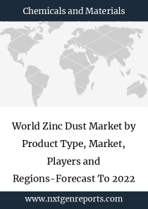 World Zinc Dust Market by Product Type, Market, Players and Regions-Forecast To 2022