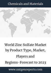 World Zinc Sulfate Market by Product Type, Market, Players and Regions-Forecast to 2023